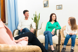 A family therapy session with Tricia J. Mlnarik in San Jose, CA